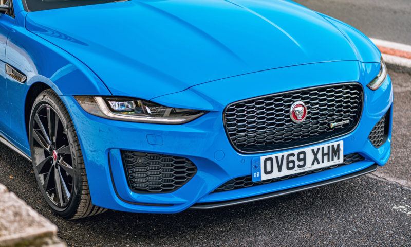 Jaguar XE front end