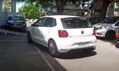 Volkswagen Polo driver crash