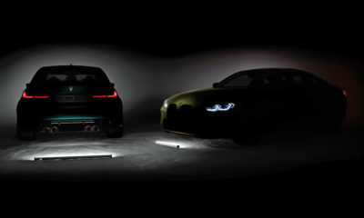 BMW M3 and M4 teaser