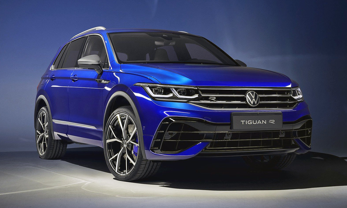 New (235 kW) Volkswagen Tiguan R unveiled at top of ...