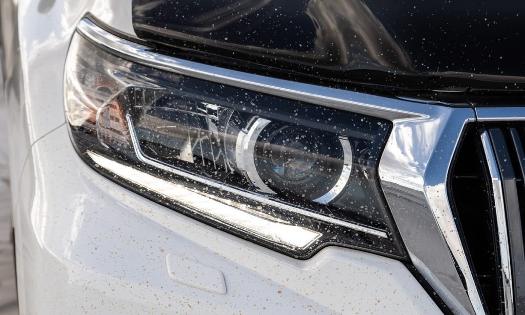 Prado headlamp