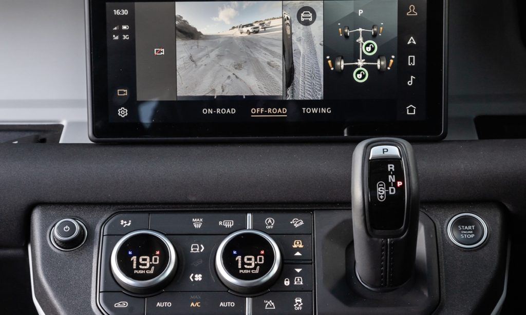 Defender infotainment