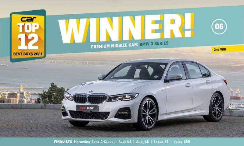 BMW 3 Series Top 12 premium midsize winner
