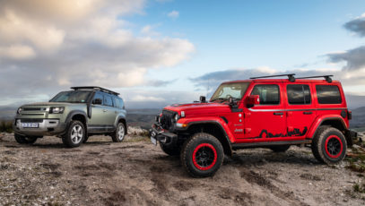 Land Rover Defender vs. Jeep Wrangler