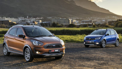 Ford Figo Freestyle and Renault Sandero Stepway Techroad