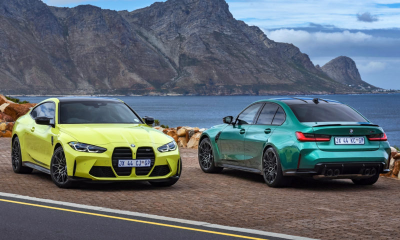 BMW M3 Competition and M4 Competition