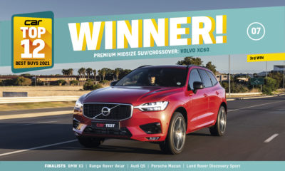 Volvo XC60 wins Top 12 award