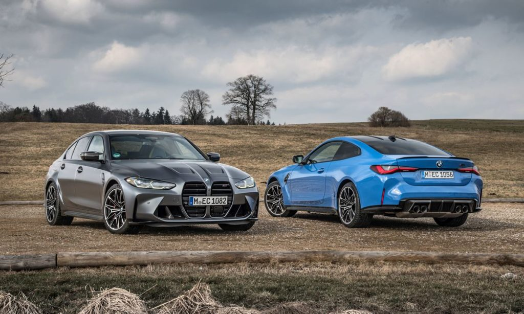 BMW M3 and M4 Competition xDrive