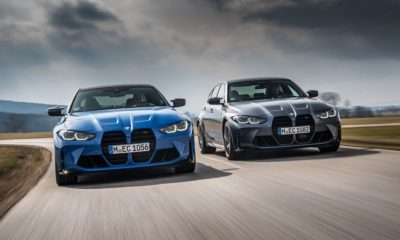 BMW M3 and M4 Competition xDrive driving