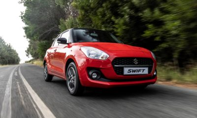 Suzuki Swift front quarter driving