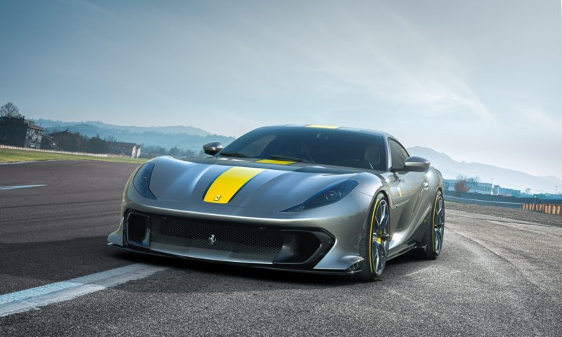 limited edition Ferrari 812 Superfast front