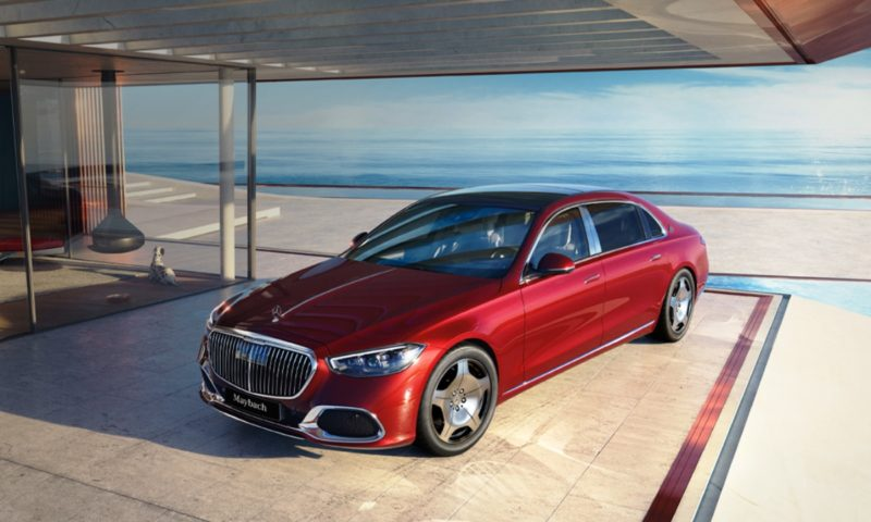 Mercedes-Maybach S480 front top
