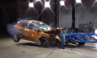 Renault Sandero Stepway crash test