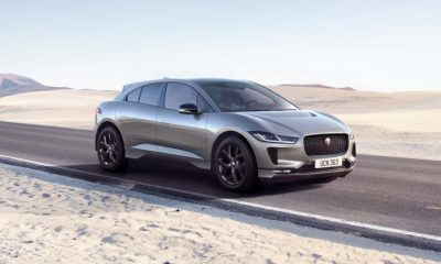 Jaguar I-Pace Black front quarter
