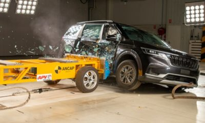 Kia Carnival crash test