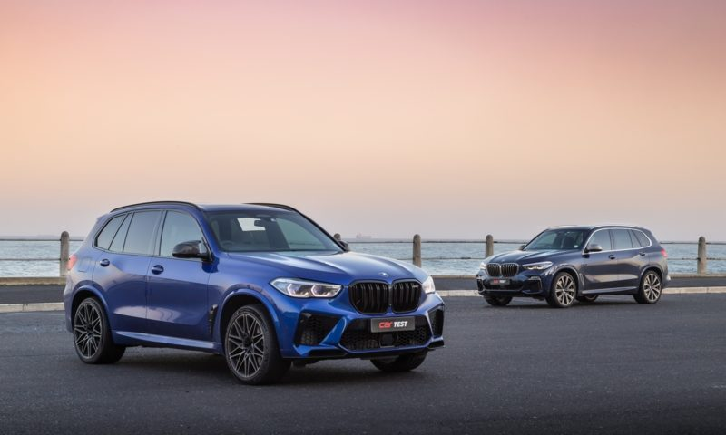BMW X5 M Competition and X5 M50i