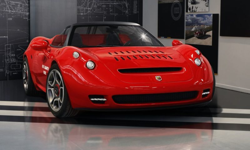 2021 Abarth 1000 SP one-off