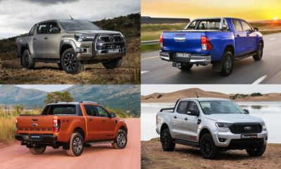 2021   Toyota Hilux   Ford Ranger   double cab   South Africa   best selling