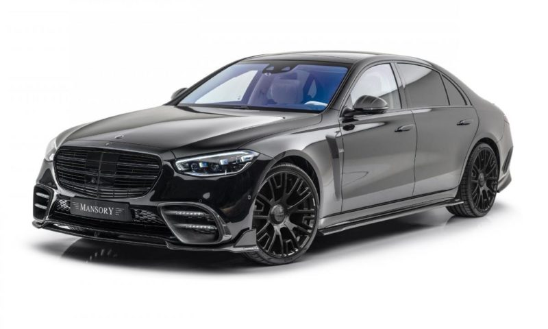 Mercedes-Benz S-Class by Mansory front quarter