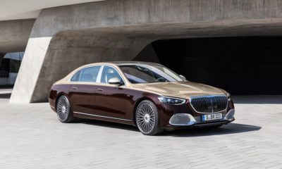 Mercedes-Maybach S680 front quarter