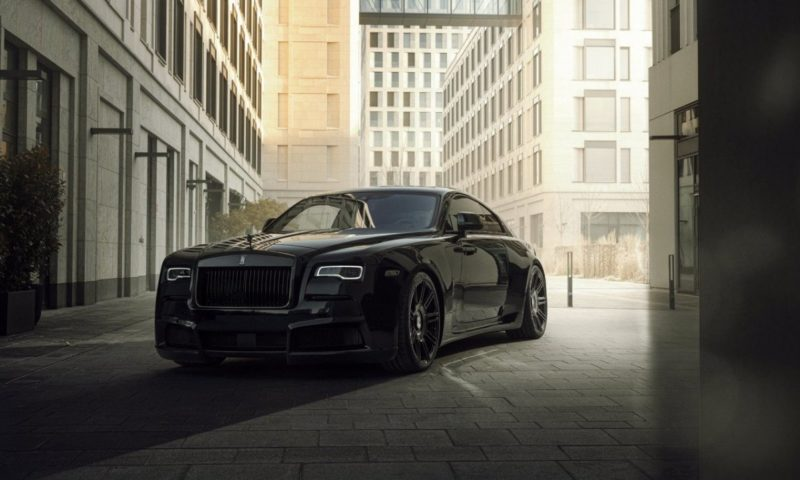 Rolls Royce Wraith Overdose black badge front quarter