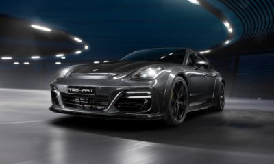Techart Panamera Grand GT front driving