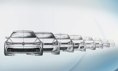 Volkswagen Golf GTI sketches