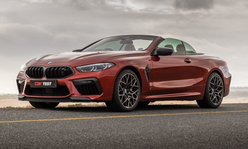 2021 BMW M8 Competition Convertible