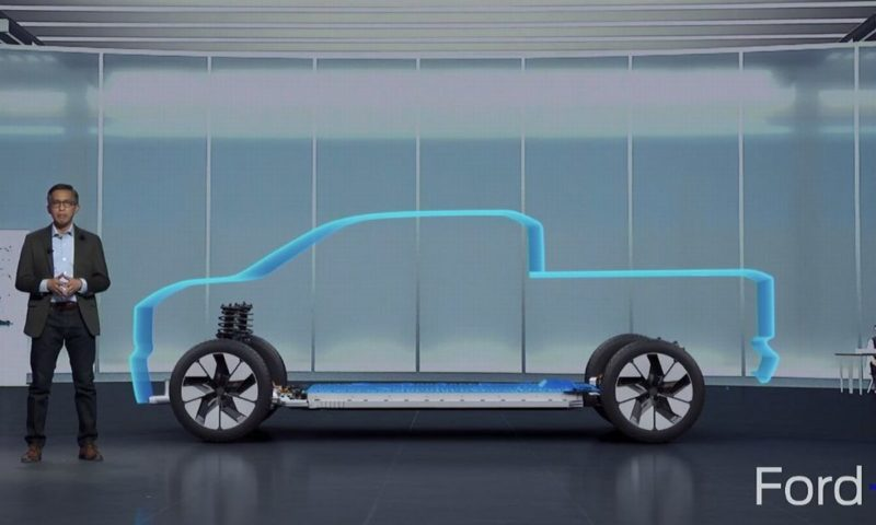 Ford electric pick-up