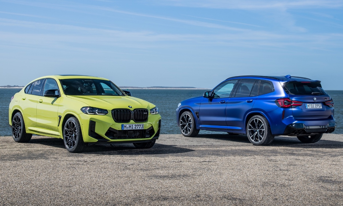 BMW tweaks X3 M and X4 M with more torque, fresh look - Carmag South Africa