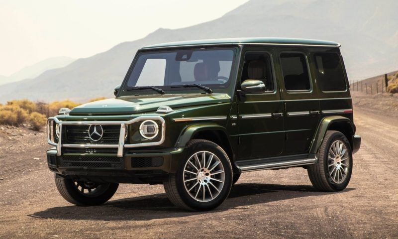 All-electric Mercedes-Benz G-Class preview