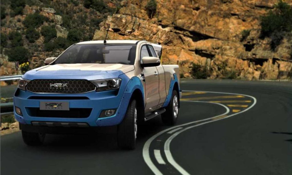 H2X Warrego front driving