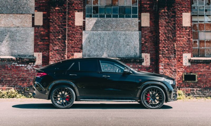 Mercedes-AMG GLE63 S Coupé Brabus 800 side