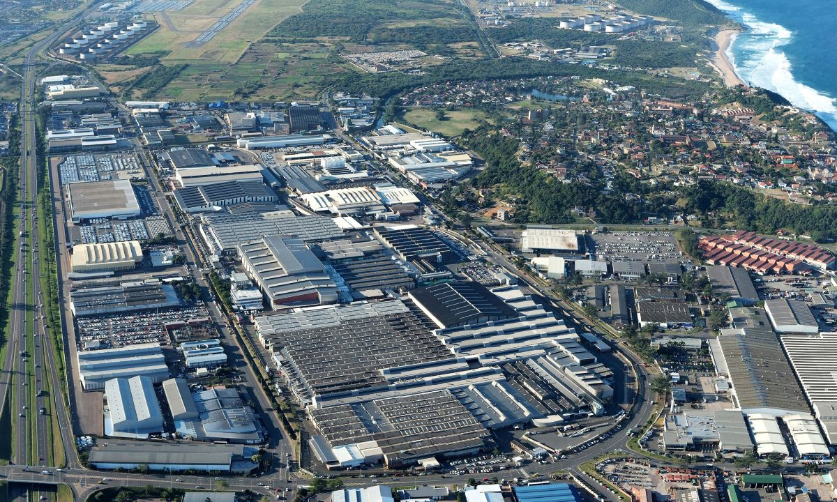 Toyota South Africa Prospecton plant 2012