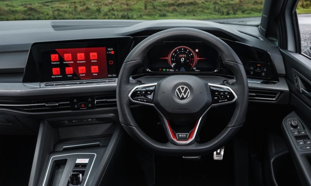Volkswagen Golf GTI optional extra pricing south africa interior