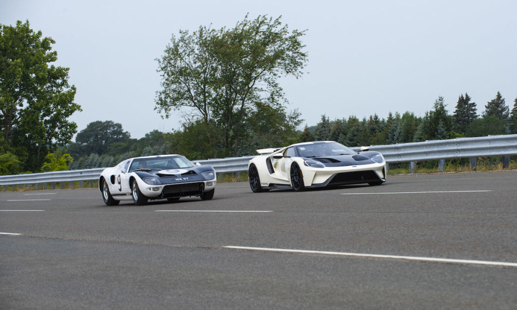 sole surviving 1964 Ford GT prototype rolling