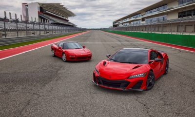 Acura NSX Type S new and old