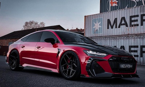 Kevany RS7 front 3/4