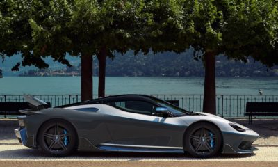 Production Battista at Monterey Car Week Side View