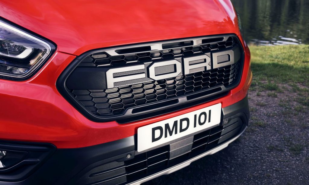 Ford Transit Custom Nugget grille