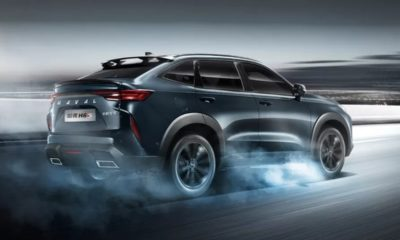 Haval H6S driving