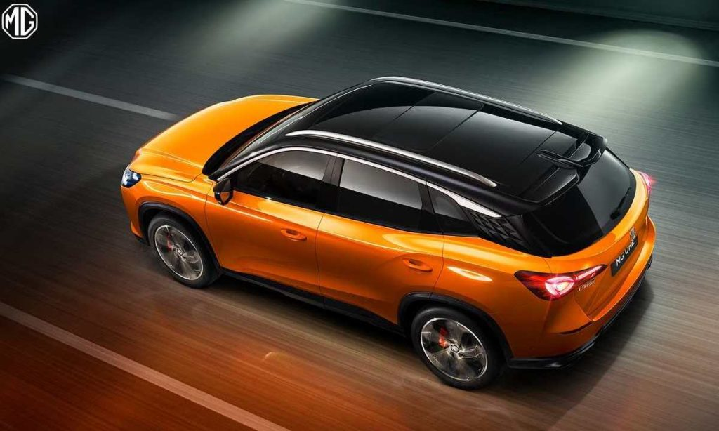 MG One sporty top driving