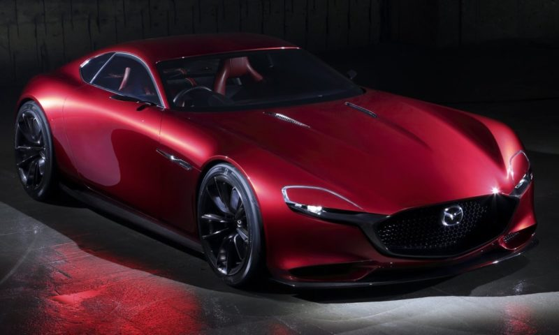 Mazda rotary engine RX-Vision concept