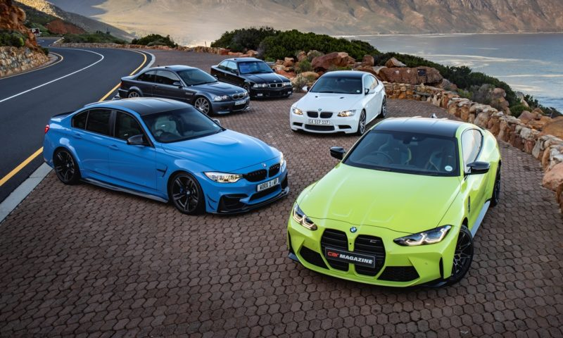 BMW M4 Competition Coupe vs the world of M3