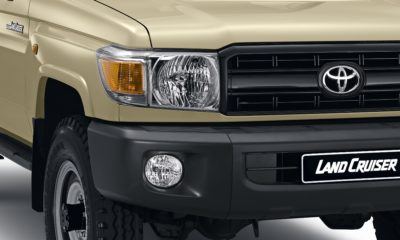 Toyota Land Cruiser 70 Series Special Edition teaser