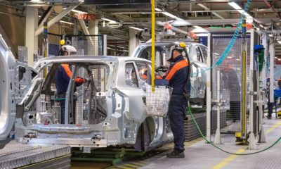 Volvo production halted