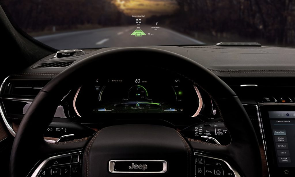 Jeep Grand Cherokee instrument cluster
