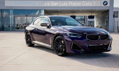 BMW 2 Series Coupe front quarter