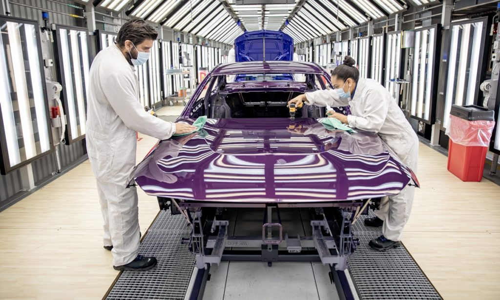 BMW 2 Series Coupe production