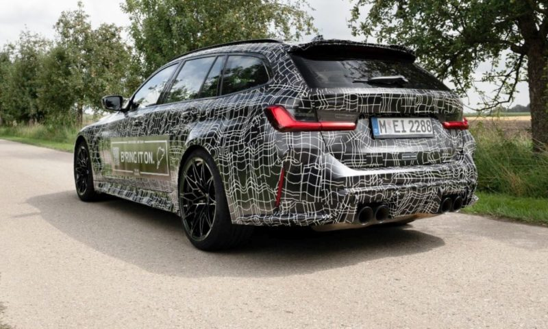 """BMW M3 Touring officially teased again to pave """"new roads to excellence"""""""